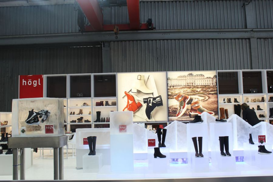 Hoegl Shoes Messestand Gallery Shoes 2019