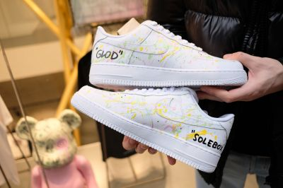 Limitierte Sneaker »solebox x GLOD Air Force 1«