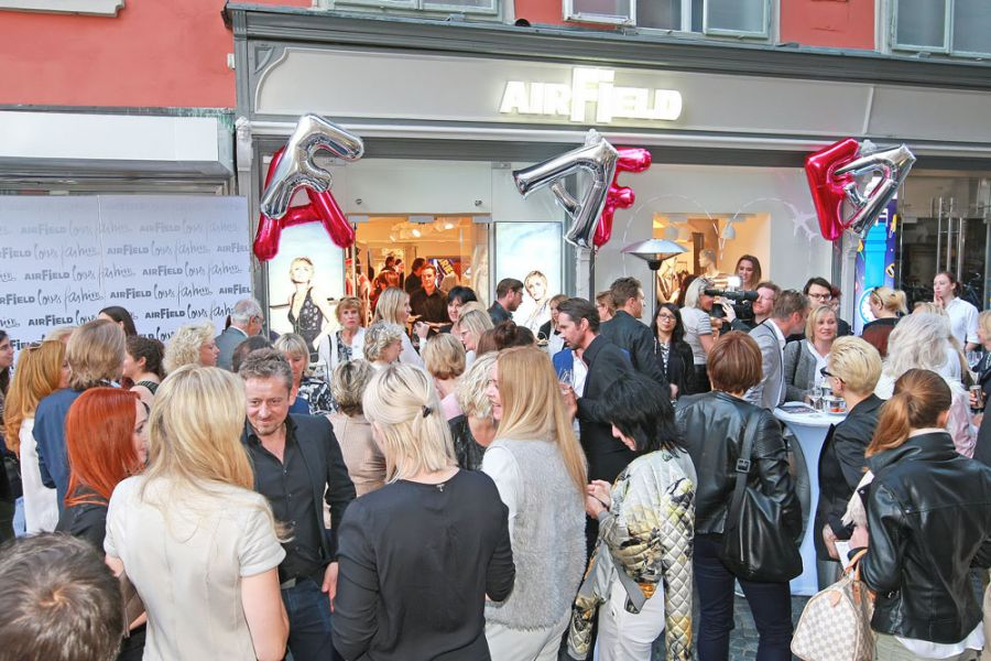 Airfield Store Opening in Graz