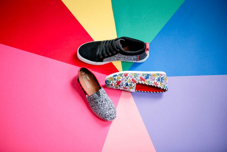 Toms x Keith Harring Collection