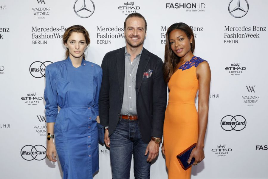 Designer for Tomorrow Fashion Show 2016, Sofia Sanchez de Betak, John Cloppenburg und Naomie Harris