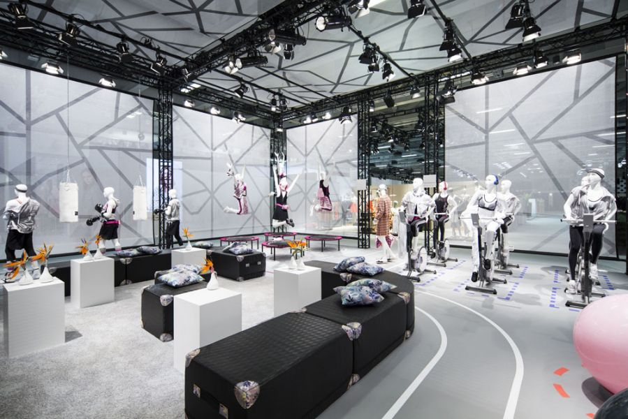 Launch der Marc Cain Fitwear-Kapselkollektion F/S 2017 auf der Panorama in Berlin