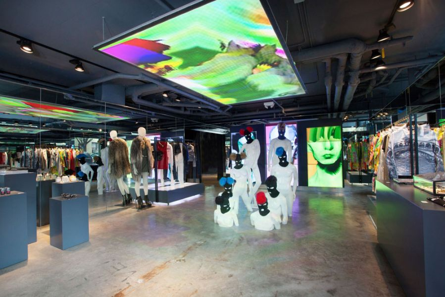 Diesel Pop Up Store Brooklyn (New York)