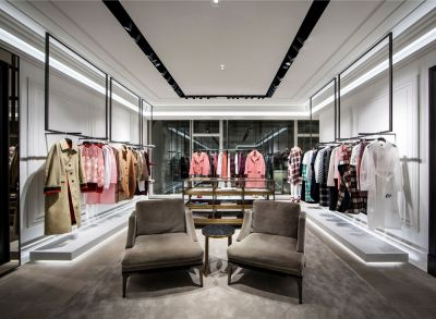 Burberry Re-Opening am Kohlmarkt