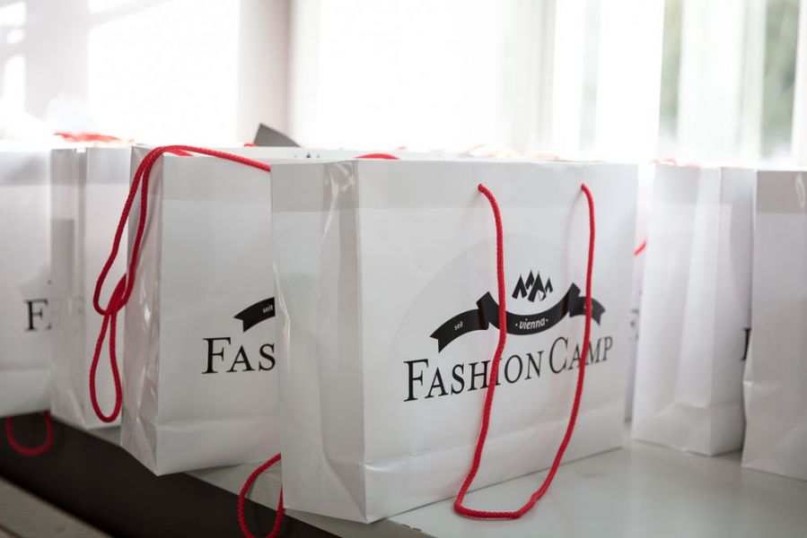 FashionCamp Vienna 2017 Goodiebag