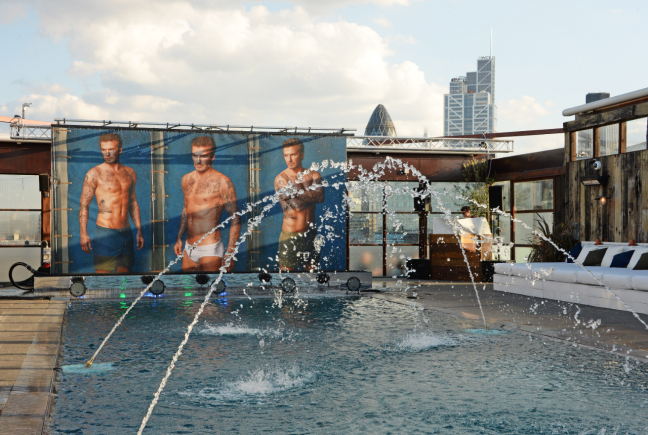 Pool Party Location Shoreditch House in London