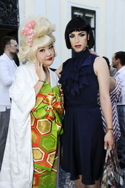 Plus Size Model Jun Nakayama & Drag Queen, DJane & Designerin Tamara Mascara