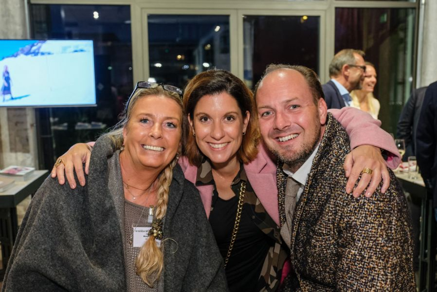 Gabriele Maderthaner (GM-Lifestyle), Nina Stift (Stift Moden), Roman Maurer (CF Collection)