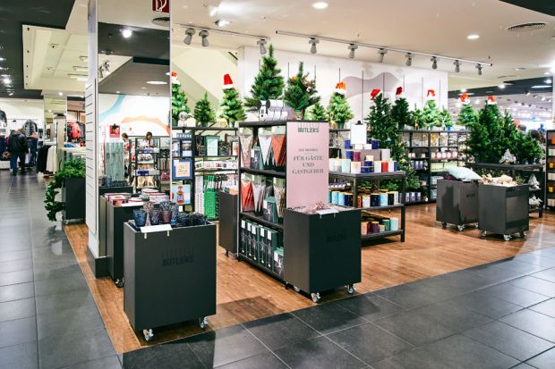Butlers Christmas Shop-in-Shop bei C&A