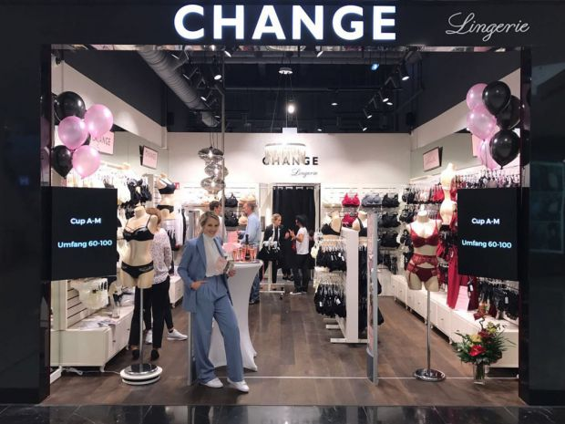 Change Lingerie-Filiale in der SCS