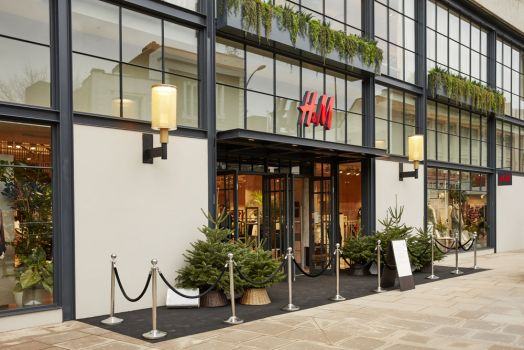 H&M Store in Hammersmith, London