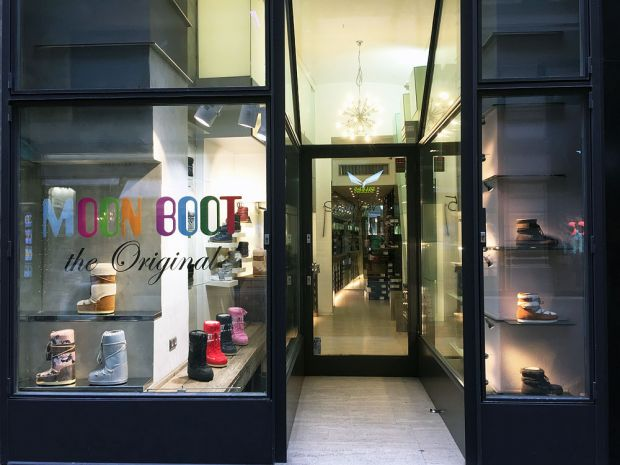 Moon Boot Pop Up Store in der Wiener Innenstadt