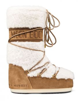 Moon Boot Wool Sand Off White