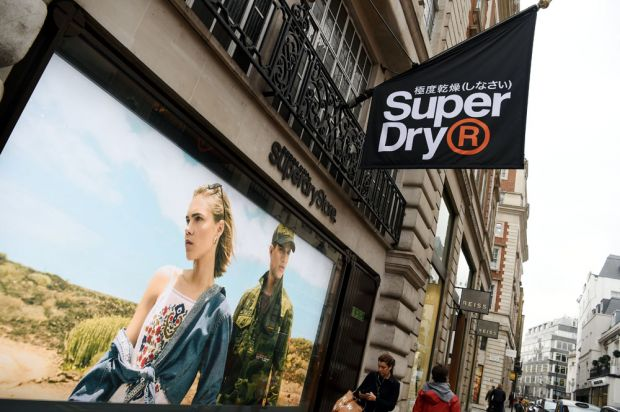 Superdry flagship store in Regent Street, London