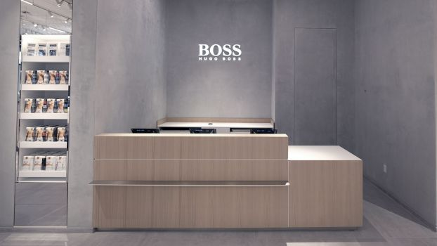 Boss Store in Soho