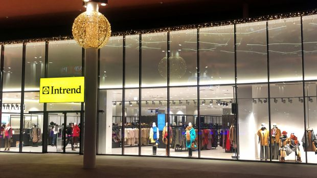 Der neue Intrend-Store in den Pado Shopping Galerien